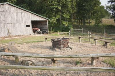 back barn fire pit